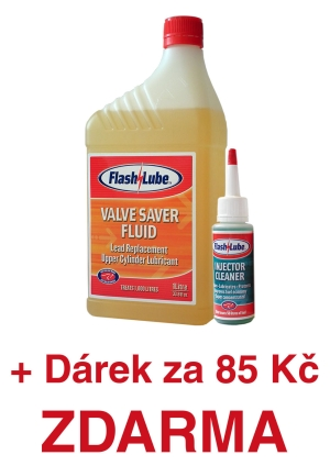 1 litr aditiva do LPG Flashlube Valve Saver Fluid plus Injector Cleaner