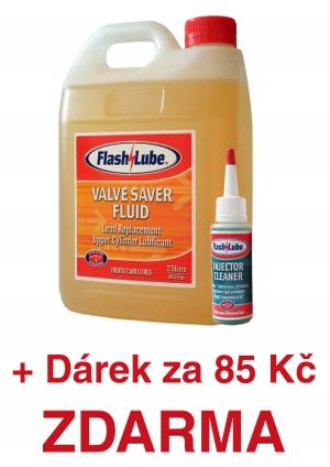 2,5 litru aditiva do LPG Flashlube Valve Saver Fluid plus InjectorCleaner